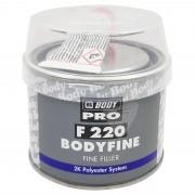 Kétkomponensű finom szemcseméretű poliészter javító kitt 250 gr. HB Body F 220
