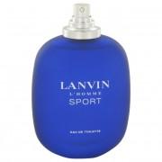 Lanvin L'homme Sport Eau De Toilete Spray (Tester) 3.3 oz / 97.6 mL Fragrance 500348