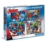Puzzle Clementoni - Marvel Avengers, 20/60/100/180 piese (62344)