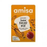 Mix pentru Paine, Fara Gluten cu Seminte Bio, 500gr, Amisa