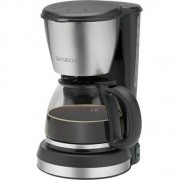 Cafetiera Clatronic KA 3562, Inox, 1.5L, 900W, Negru