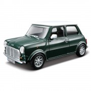 Macheta Masina Mini Cooper clasic BBURAGO Scara 1:32 Green