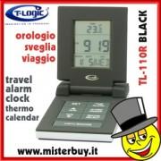 SVEGLIA DA VIAGGIO DIGITALE T-LOGIC 110 n CAL / TERM