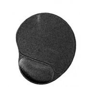 Mouse Pad gel cu wristpad confortabil, dimensiuni:260x220mm, grosime 3mm, Negru, GEMBIRD (MP-GEL-BLACK)