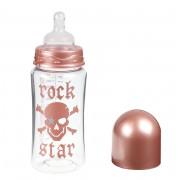 dětská láhev ROCK STAR BABY - ROSE PIRAT 300ml - 93011