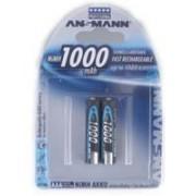 Batteria Ricaricabile Mini Stilo (AAA) Ansmann - 2 pezzi