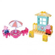 Zoofy International Peppa Ice Cream Shop Construction Set by