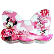 Minnie Mouse 3 Pack Bow Tique Puzzles