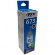 Botella Tinta Epson 673 Cian T673220 C13t67322a Original