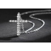 Genova International Ltd £9.99 instead of £49 for an elegant crystal cross pendant necklace! from Genova International Ltd - save 80%