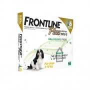 Frontline Plus For Small Dogs 2-10kg (under 22lbs), 6 Pack