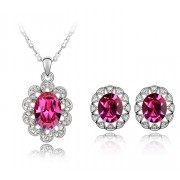 Set Swarovski Ruby