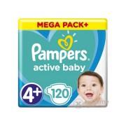 Pampers Active Baby pelene Megabox Plus, 4+- , 120 kom