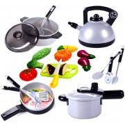 19Pcs Juguetes De Cocina 360DSC - Multicolor