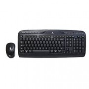 Logitech Wireless Keyboard and Mouse MK330 Black
