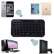 HDE Bluetooth 3.0 Keyboard Mini Travel Size Wireless Pocket Keypad for Sony Playstation PS4 + Tablets + Smartphones