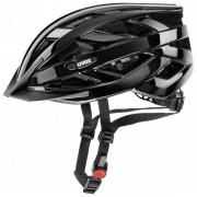 Uvex I-VO Casco per bici (52-57 cm, nero/grigio)