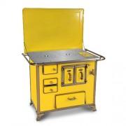 Fogão a Lenha Renaissance Amarelo com Tampa - Venax Eletrodomésticos
