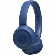 Casti audio On-Ear JBL Tune 500, Wireless, Bluetooth, Pure Bass Sound, Hands-free Call, 16H, Blue