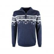 Kama Fashion&Function Kama Sweater van 100% merino wol blauw dames 5007