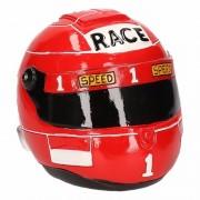 Geen Rode race helm spaarpot