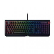 Клавиатура Razer BlackWidow Elite (Yellow Switch), гейминг, механична, Razer Chroma подсветка, мултимедйини бутони и скролер, черна, USB