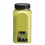 Mica zand lime groen 1 kg