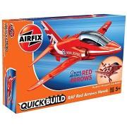 Airfix Quick Build J6018 Repülőgépmodell - Red Arrows Hawk