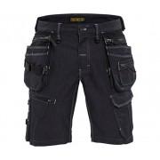 Blåkläder Shorts Hantverk X1900, 54, Svart