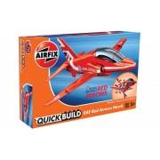 KIT CONSTRUCTIE QUICK BUILD RAF RED ARROWS HAWK - AIRFIX (AFJ6018)