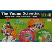 The Young Scientist Series 2 Set Part Science Kit Magnetism, Tornadoes, Clouds & Water Cycle, Static Electricity