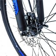 Bicicleta MTB-HT 26 Velors V2656A cadru aluminiu albastru alb