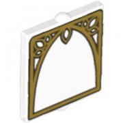 6141960 Geam 2 X 2 decorat- arcada