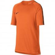 Nike Breathe Squad Top - Herren kurzarm Trainingsshirt - 859850-806 orange