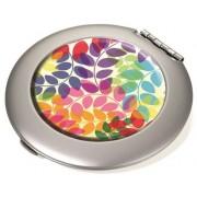 Pipere tükör, fém, kerek, matt, TROIKA, Colourful leaves (TROCOM03A084)