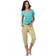 Pijama de damă Patty turcoaz L