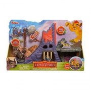 Jucarie Lion Guard Hyena S Hideout Playset