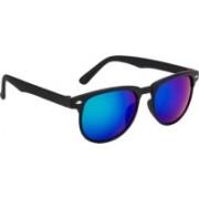 Adrian Rectangular Sunglasses(Blue)