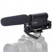 TAKSTAR SGC-598 Professionele Interview Camera Microfoon voor DSLR & DV Camcorder