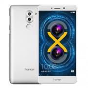 Huawei Honor 6X 32GB Network: 4G Fingerprint Identification 8MP Front Camera + Dual Rear Camera(12MP + 2MP) Dual SIM 5.5 inch IPS Screen Android 6.0 OS Kirin 655 Octa Core 2.1GHz RAM: 3GB Support WLAN BT4.1 GPS 128GB Micro SD Card(Silver)