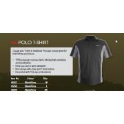 Tricou Polo negru/gri Prologic