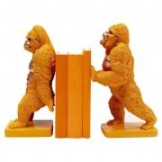 Kare Design Set Sujetalibros Gorilla Orange