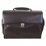 Braun Büffel Texas Serviette - Porte-documents cuir 43 cm compartiment ordinateur portable