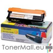 Тонер касета BROTHER TN-328Y (Yellow)