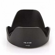 Cam Cart HB-N106 Bayonet Lens Hood for Nikon HB-N106 Bayonet Lens Hood for 18-55mm AF-P 18-55mm
