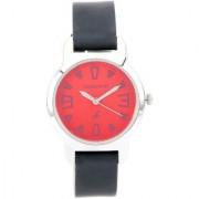 Fastrack Quartz Red Round Girl Watch 6127SL02