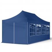 TOOLPORT Pop Up Gazebo 3x6m High Performance Polyester 300 g/m² blue waterproof