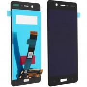 Nokia Repuesto Pantalla LCD/Táctil Negra para Nokia 5