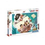 Puzzle Clementoni SuperColor: The Pirates, 104 piese