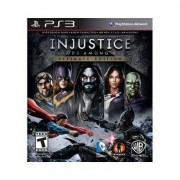 Injustice Gods Among Us Ultimate Edition - Ps3 - Unissex
